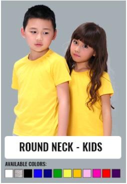 ROUND NECK - KIDS