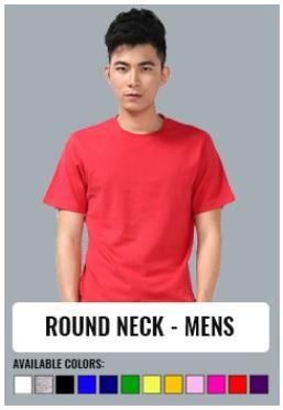 ROUND NECK - MENS
