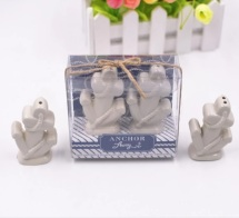 Anchor Salt & Pepper Ceramic Shakers